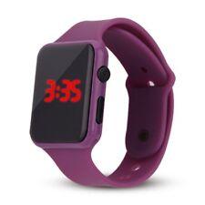 Fashion Men/Women Sport LED Waterproof Rubber Bracelet Digital Wrist Watch Gift