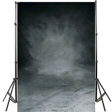5x7ft vinyle toile de fond gris PHOTOGRAPHIQUE contexte PHOTO STUDIO BACKGROUND