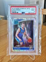 2018 Donruss Optic Shock🔥Luka Doncic🔥 #177 RC Rookie PSA 9 MINT
