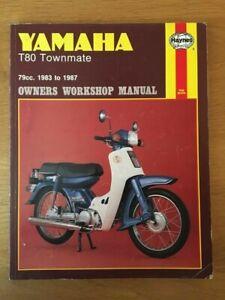 Yamaha T80 Townmate  Workshop manual Haynes 1983-1987 , See below