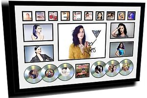 NEW KATY PERRY SIGNED LIMITED EDITION FRAMED MEMORABILIA