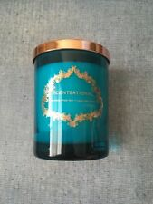 SCENTSATIONAL Natural Soy Candle Black Orchid Scent Premium Soy Wax 11 OZ