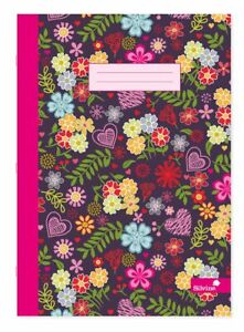 A4 Notebook Marlene West Assorted Design 80 pages Ruled Feint with Margin X1