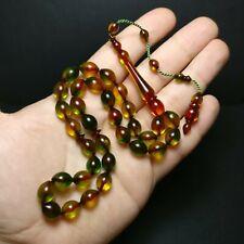 Stylish Prayer Beads Fire Tesbih Muslim Rosary Islam Allah Tasbih Tasbeeh 994