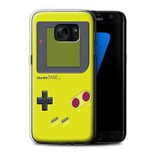 STUFF4 Gel/TPU Case/Cover for Samsung Galaxy S7 Edge/G935/Video Gamer/Gameboy