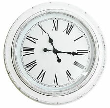 40cm Large Giant Big HUGE Antique Round Dining Room Hallway Wall Clock Gift White