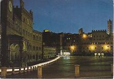 SIENA - NOTTURNO DI PIAZZA DEL CAMPO - V1980