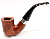 Peterson Sherlock Holmes Original Silver Mounted Pipe 9mm Filter +Free Pipe Tool