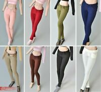 "1/6 Mini Slim Pencil Pants Model Fit 12"" Female Phicen TBLeague Figure Body"