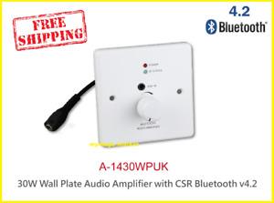 WALL Amplifier WALL PLATE BLUETOOTH 24W NEW