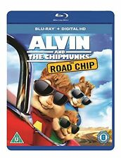 Alvin And The Chipmunks: Road Chip [Blu-ray] [2016] [DVD][Region 2]