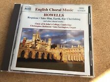 Howells: Requiem, Take Him, Earth, St Paul's Mag & Nunc. St John's Cambridge '99