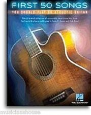 50 Songs You Should Play On Acoustic Guitar Learn Eagles Coldplay MUSIC BOOK Hit