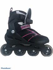 Rollerblade Zetrablade Women's Size9 Skate Sg5 Performance Bearings Black Cherry