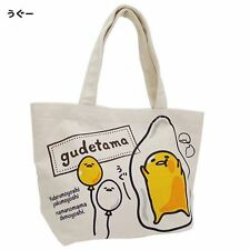 "Sanrio Gudetama Mini Tote Bag/""Ugu・・・""/School,Mother Bag/Leisure/Hand Bag/New"
