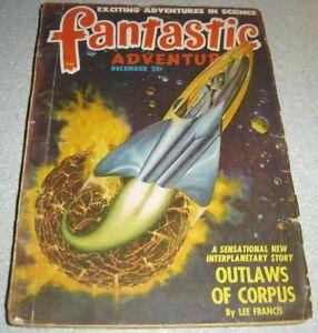 Fantastic Adventures December 1948 SF Pulp Magazine