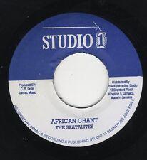 "Skatalites / Winston & Jerry – African Chant JA 7"" STUDIO ONE NEAR MINT"