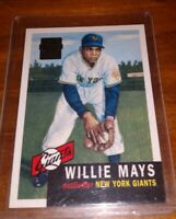 1953 Topps Willie Mays Giants, Beautiful reproduction from 1996 Topps Red Auto