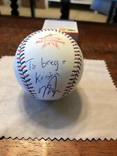 Mike Trout Signed 2017 All Star Baseball PSA DNA Coa Angels