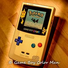 NINTENDO GAME BOY COLOR LIMITED EDITION GOLD Console Only *MINT CONDITION*