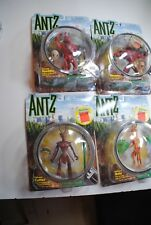 ANTZ DREAMWORKS PLAYMATES   nice set of 4 figures all nib !