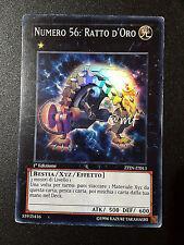 NUMERO 56: RATTO D'ORO ZTIN-IT013  ITA YGO YUGIOH YU-GI-OH [MF]