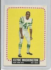 CLYDE WASHINGTON RC #129 1964 TOPPS