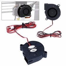 DC 12V/24V Cooling Fan Blow Radial Hot End Extruder 50mm For 3D Printer Parts