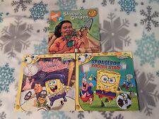 SpongeBob Squarepants + Gullah Gullah Island (Paperback) LOT of 3) NICKELODEON