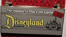 Disney Retro A B C D E  HINGED Ticket Book Pin NEW ON ORIGINAL CARD