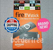 Amazon Fire TV Stick w/ Alexa Voice Remote Streaming Media Player (Latest Model)