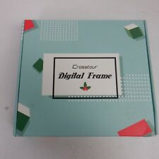 Crosstour Digital Photo Frame, 8 Inch Wide Screen Electronic Pictur *EX DISPLAY*