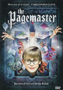 The Pagemaster ,DVD ,UK Region ,english , sealed , Macaulay Culki , Home alone