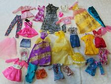 Lot #1 27 pc. Of Barbie plus other brands Clothing Dresses Skirts pants jackets