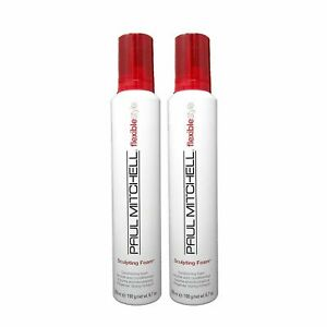Paul Mitchell Flexible Style Sculpting Foam 6.7oz Pack of 2