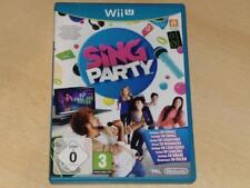 Sing Party Nintendo Wii U UK PAL **FREE UK POSTAGE**