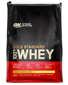 Optimum Nutrition Gold Standard 10lbs Banana Cream Protein Powder ExtraSale