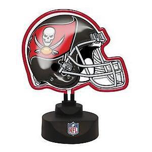 Tampa Bay Buccaneers Neon Helmet Lamp