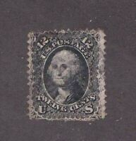 United States stamp #69, used, 1861 - 62, SCV $100