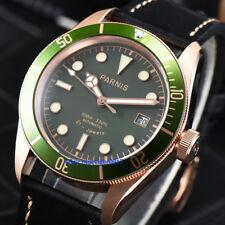 41mm Parnis Japan Miyota Sapphire Glass Men's 10 ATM Resistant Automatic Watch