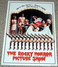 ROCKY HORROR PICTURE SHOW He's The Hero Poster 1975 Dargis 3761