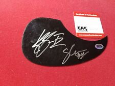 Country Duo Thompson Square Hand Signed Pick Guard W/CAS COA