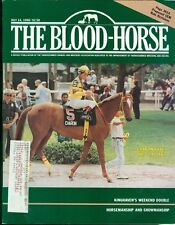 1990 The Blood-Horse Magazine #28: Charon Wins the CCA Oaks/CEM Rule Revision