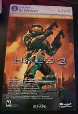Halo 2 PC Vista Xbox Live 1 Month Trial Card