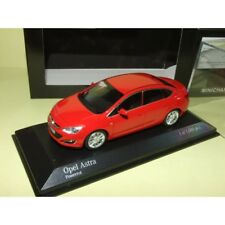 OPEL ASTRA J Phase 2 2012 Rouge MINICHAMPS 1:43