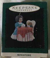 Hallmark Keepsake Ornament 1994 Tea With Teddy ~ New in Box