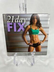 21 DAY FIX BeachBody 2-disc DVD set Cardio ABS Pilates YOGA Autumn Calabrese