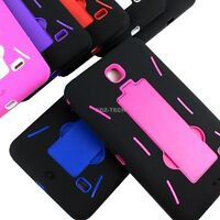 For Samsung Galaxy Tab 4 7.0 7 T230/T231/T235 Dual Layer Hybird Stand Cover Case