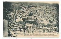 béziers ,vue aérienne , cathédrale saint-nazaire,église saint-jude