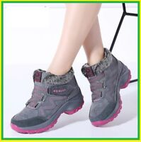 Winter women snow boots warm push ankle boots female high wedge  waterproof Boot